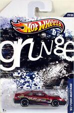 Hot Wheels 2012 Jukebox Series #27  '92 FORD MUSTANG Grunge 1:64 Y2074