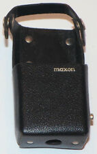 LEATHER CASE for the MAXON CS-0510 VHF TRANSCEIVER WALKIE TALKIE