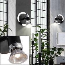 2X LED CHROME MUR Lumières couloir LUMIÈRES SPOT tournant récolte lampes