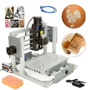 DIY 2417 Desktop Mini Engraving Machine Milling Engraver CNC Router PCB Metal