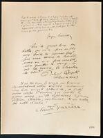 1926 - Litografía Citas Jacques Bainville, Roland Bryan, C Farrere