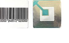 1,000 RF Labels 4x4cm size Checkpoint® System Compatible Fake Barcode