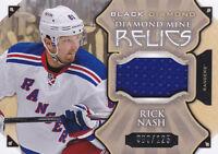 15-16 Black Diamond Rick Nash /125 Jersey Mind Relics NY Rangers 2015