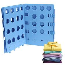Clothes T Shirt Top Folder Magic Folding Board Flip Fold Adult Laundry Organizer