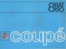 Fiat 850 Coupe Series 1 Portuguese market sales brochure c.1965/66