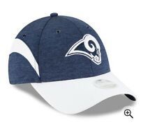 new style cd304 4e2d5 Los Angeles Rams New Era Women s 2018 NFL Sideline Home 9FORTY Adjustable  Hat