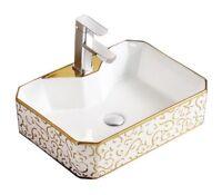 Bathroom  Vessel Sink Vanity Counter above Art Basin
