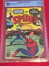 SPIDEY SUPER STORIES 40 CBCS 9.6 Hawkeye Spider-Man Mike Esposito 1979 CGC