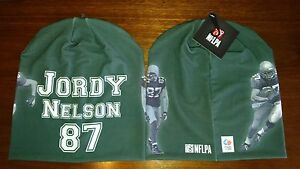 Jordy Nelson #87 Green Bay Packers NFL Player All Weather Stretch Beanie