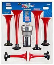 ALMA LLANERA/THE LONE RANGER MUSICAL AIR HORN KIT 6 Trumpets 12v Compressor WOLO