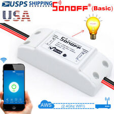 Sonoff ITEAD Switch Smart WiFi Wireless Module ABS Shell Socket for DIY Home APP