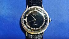 Vintage Longines 14k Gold 36 Diamonds 17 jewels Men's Watch