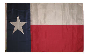 8x12 ft Embroidered Sewn State Of Texas 600D 2ply Nylon Flag 8'x12' Grommets