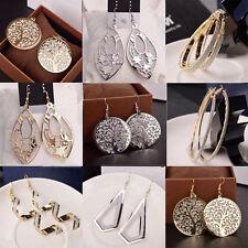 Elegant Women Lady Hook Earrings Crystal Ear Stud Dangle Hoops Jewelry Gifts New