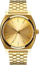 Relojes de pulsera baterías de oro resistente al agua