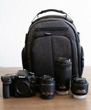 Nikon D7500 DSLR | 20.9 MP DX Format Digital SLR Camera 3 Lens Bundle