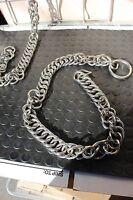 """28-106 Brand new premium stainless steel 5 1//2/"""" liverpool bit with chain"""