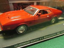 JAMES BOND CARS COLLECTION 013 MUSTANG MACH 1 DIAMONDS ARE FOREVER
