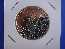 Pièce 10 euros argent des régions ♣ GUAYNE ♣ 2010 sous pochette HB ♣