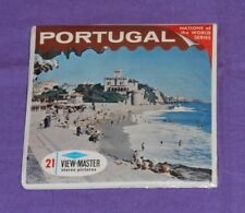 vintage PORTUGAL VIEW-MASTER REELS new/sealed packet Nations of the World series