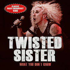 TWISTED SISTER New Sealed 2018 UNRELEASED LIVE 1980 NEW YORK CONCERT CD