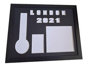 London Marathon 2021 Display frame for number , medal & photo (pre-order)