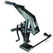 CNC Rearsets Footpeg Footrest For KAWASAKI Ninja 650R ER6F/ER-6N 2012-2014 Black