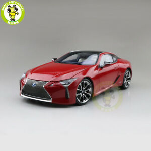 1/18 Toyota Lexus LC 500h Sports Racing car Diecast Model Cars Toys Gifts Red