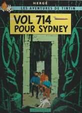 HERGÉ . TINTIN . VOL 714 POUR SYDNEY . VÉRITABLE EO . 1968 . B37 . NEUF .
