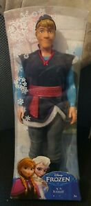 "MATTEL DISNEY FROZEN KRISTOFF DOLL FIGURE, Sealed, 12"" Original"