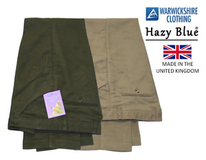 Mens Heavyweight 100% Cotton Moleskin Trousers Casual Country Clothing 30-50