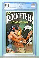 2011 IDW Rocketeer Adventures 4 Dave Stevens Variant CGC Graded 9.8 Key Hot Rare