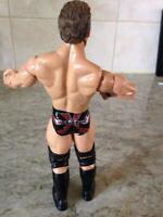 "WWE - Wrestler Chris Jericho 7"" Action Figure Jakks Pacific 2004 Wrestling Toy"