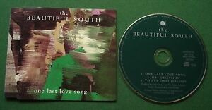 The Beautiful South One Last Love Song inc Mr Obsession + CD Single