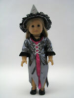 18 Inch Doll Costume Witch Outfit Halloween Costume Fits American Girl Dolls