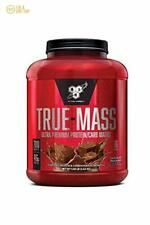 BSN TRUE-MASS Weight Gainer Muscle Mass Gainer Protein Powder, Chocolate 5.8 Lbs