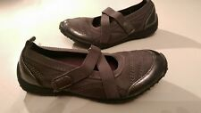 Sonoma Girls Gray Mary Jane shoe size 1 EUC