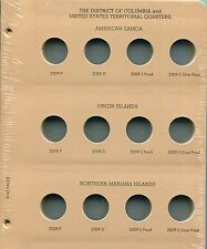 DANSCO Album Page D.C. & Territorial 2009P-2009S Quarters #8145-2 Page 2
