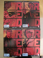 RED : COMPLETE 4 PREQUEL ISSUE SERIES to the MOVIE.FRANK,VICTORIA,MARV,JOE. 2010