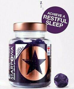 Starpowa Snooze Vitamin Black Cherry Flavoured 30 Gummies BBE 03/22