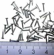"""700x Steel Tacks Nails small tiny micro 0,8x5mm (3/16"""" x G20)"""