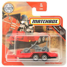 Cycle Trailer Motorcycle 2020 Matchbox MBX Countryside MB1215 #99 Short Card