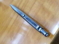 Montblanc Slim Line Kugelschreiber in Silber   Mont Blanc