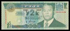 FIJI 2 $ DOLLAR 2000. PICK 102. COMM MILLENIUM. SC. UNC (Uncirculated).
