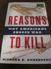 1st/1st Printing REASONS TO KILL Rubenstein ADVANCE Uncorrected Proof HISTORY