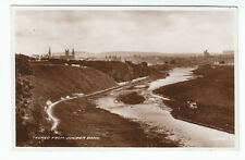Thurso From Juniper Bank Caithness 1898 Real Photograph Braal Castle Halkirk