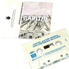 CAPITOL RECORDS EMI PROMO 1978 PROMO CASSETTE TAPE ALBUM KRAFTWERK NEON LIGHTS