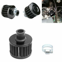 Car Oil Air Filter Intake Vent Valve Cover Breather Fuel Crankcase Filter 12mm