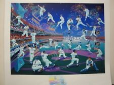 "Melanie Taylor Kent ""LA Dodgers 30 Years Of Memories"" Remarque Serigraph"