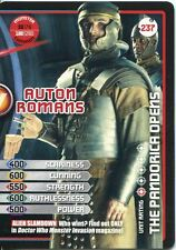 Doctor Who Monster Invasion Extreme Card #237 Auton Romans